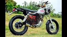 Modif Trail Jadul by Modifikasi Motor Jadul Honda Gl Pro Modif Trail