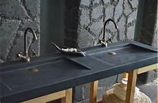 Vasque En Fole Ge Shadow Granit Noir