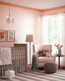 create contrast in your baby s nursery with paint keep walls light with behr s trail