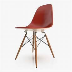 Free Eames Dsw Chair 3d Model