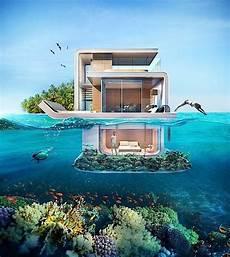 Haus Auf Wasser - floating seahorse schwimmende villa bietet ausblick
