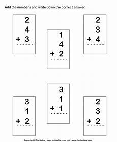 1st grade math worksheet adding 3 numbers new 335 grade math worksheets adding three numbers