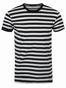 new black and white striped t shirt ebay