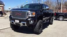 2016 gmc 3500hd gfx all terrain bds liftkit black