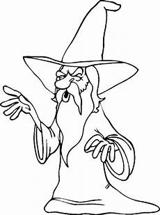 wizard coloring pages to and print for free