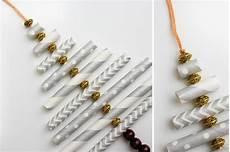 Made Tree Ornament Paper Straws 187 Make Do