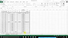 how to calculate reduced level r l in excel youtube