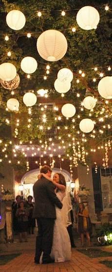 paper lanterns made wedding dreams come true