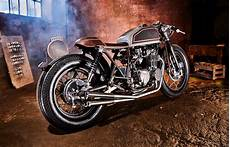 four pot supershot a classic honda cb550 cafe racer from