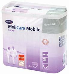 hartmann molicare mobile large couche