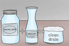 Bathroom Cleaner With Baking Soda And Vinegar by Unclog A Drain Baking Soda