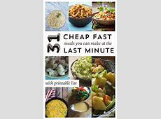 31 Cheap, Last Minute Real Food Dinner Ideas   Nourishing Joy
