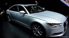2012 audi a6 hybrid exterior and interior walkaround