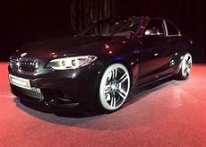 first photos of bmw m2 in sapphire black