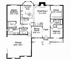 1700 square foot house plans southern style house plan 3 beds 2 baths 1700 sq ft plan