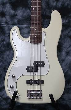 squier p bass special squier p bass special 1998 olympic white left handed reverb