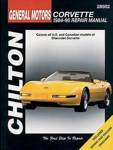 book repair manual 2012 chevrolet corvette free book chilton repair manual chevrolet corvette 1984 96 28502 ebay