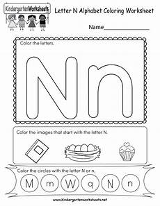 learning the letter n worksheets 24151 this is a letter n coloring worksheet can color the letters and images that start w
