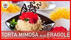 torta mimosa knam torta mimosa alle fragole 5 step youtube