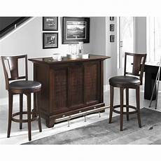 bar set home styles rio vista 3pc bar set bar two stools