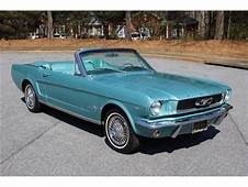 1966 Ford Mustang For Sale  ClassicCarscom CC 1074403