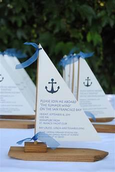 Boat Wedding Invitations