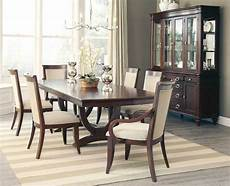 fabulous cognac finish formal dining table 6 chairs