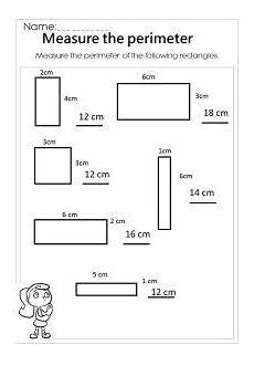 rectangle measurement worksheets 1587 measure the rectangle perimeter worksheet 193 rea y per 237 metro geometr 237 a y perimetro