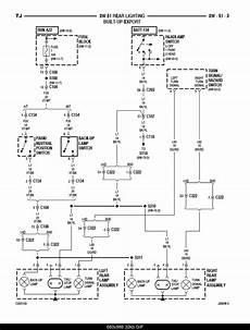 brake light wiring diagram jeepforum com