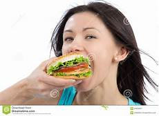 Schnelles Leckeres Essen - tasty fast food unhealthy burger royalty free