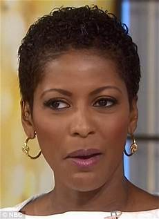 tamron hall debuts her natural wavy crop on today show daily mail online