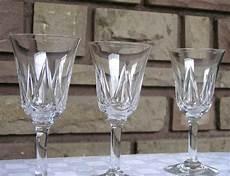 de verre prix verres en cristal de louis service lasalle