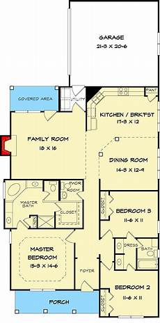cottage house plans for narrow lots adorable narrow lot cottage house plan 36099dk