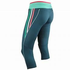 adidas aktiv 3 4 tight w z12062 laufhose blue green