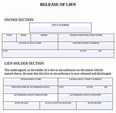 27 images of template of no lien auto canbum net