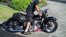 Amazing 1941 Harley Davidson El Knucklehead Cold Start