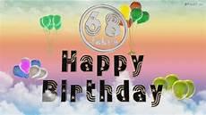 Happy Birthday 68 Jahre Geburtstag 68 Jahre Happy