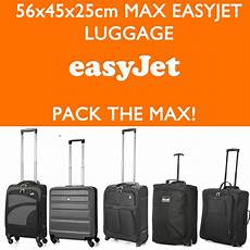 easyjet baggage cabin easyjet 56x45x25 max large cabin carry luggage