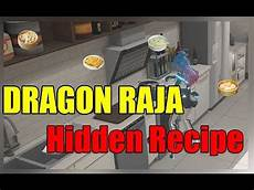 dragon raja collecting ingredients dragon raja learn new recipe youtube