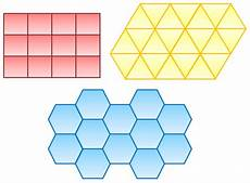proof that only 3 regular polygons tessellate