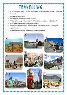 places to visit worksheets 16035 speaking and writing activities involving tourists attractions esl worksheets idioma