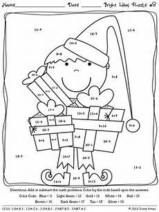 christmas math activities bright ideas for the holidays color by the code
