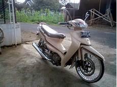 Modifikasi Smash 110 by Modifikasi Suzuki Smash 110 Modif Sepeda Motor