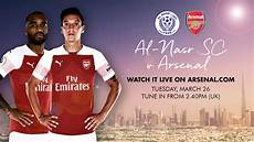 watch our game v al nasr live arsenal com club announcement news arsenal com
