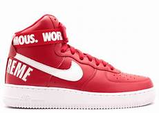 nike air 1 supreme air 1 high supreme sp quot supreme quot varsity white