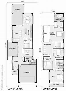 narrow lot luxury house plans foxtail small lot house floorplan by http www