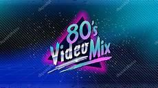 80er Jahre Mix Retro Stil Disco Design Neon 80er