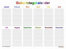 Www Malvorlagen Bilder De Geburtstagskalender Geburtstagskalender In Pdf Zum Ausdrucken 10 Varianten