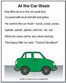 Car Wash Song Poem  Ideas For My School Pinterest