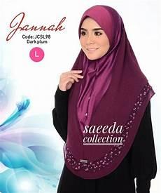 tudung sarung instant sarung labuh saiz l jannah jcsl98 saeeda collections